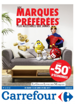 Prospectus Carrefour : Vos marques préférées plus accessibles que jamais