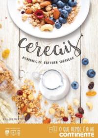 Folhetos Continente Modelo Santa Maria da Feira : Cereais, momentos do dia para saborear