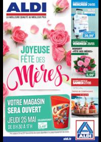 Prospectus Aldi Corbeil-Essonnes : Joyeuse fête des mères