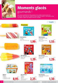 Prospectus Colruyt JAMBES : Moments glacés gourmands !