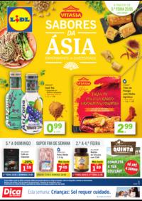 Folhetos Lidl Almada : Sabores da Ásia