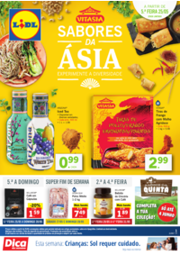 Folhetos Lidl Gondomar : Sabores da Ásia