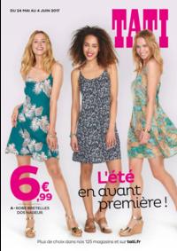 Prospectus Tati PARIS 76 avenue de Clichy : L'été en avant première !