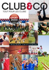 Catalogues et collections Sport 2000 REDON ZI de Briangaud Route de Rennes : Club & Co - tout pour les clubs 2017-2018