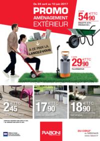 Prospectus RABONI Le Pecq : Promo aménagement extérieur