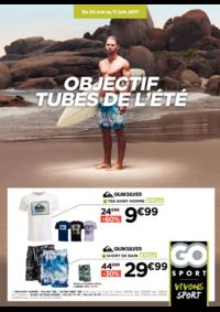 Prospectus Go Sport Redon : Objectif tube de l'été