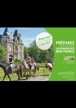 Catalogues et collections  : Préparez votre séjour au domaine Bois-Francs