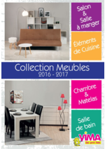 Promos et remises  : Collection Mobilier 2016-2017