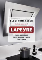 Catalogues et collections Lapeyre : Catalogue Electroménager 2016-2017