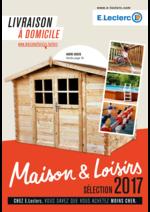 Prospectus  : Maison & Loisirs sélection 2017