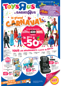 Prospectus Toys R Us MARNE la VALLEE : Le grand CARNAVAL
