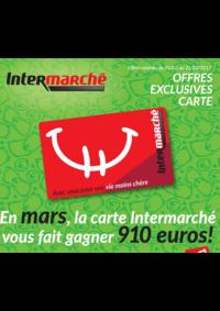 Prospectus Intermarché Bois-de-Villers : En mars la carte Intermarché vous fait gagner 910 euros !