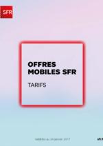 Promos et remises  : Offres mobiles SFR