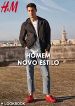 Catálogos e Coleções H&M : Lookbook homem novo estilo