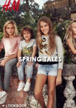 Catálogos e Coleções H&M : Lookbook Spring Tales