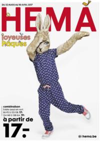 Prospectus Hema NAMUR : Joyeuses Pâques