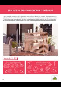 Guides et conseils Leroy Merlin St Ouen : Réaliser un bar lounge mobile