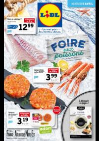 Prospectus Lidl VILLEJUIF : Foire aux poissons