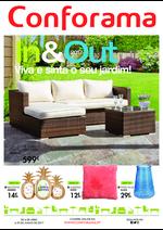 Catálogos e Coleções Conforama : In&Out, Viva e sinta o seu jardim!