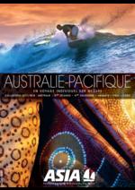 Catalogues et collections  : Australie - Pacifique 2017-2018