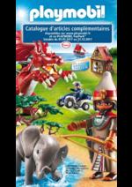 Catalogues et collections Playmobil : Catalogue d'articles complémentaires 2017