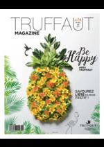 Journaux et magazines Truffaut : Be Happy avec Truffaut