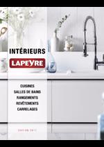 Catalogues et collections Lapeyre : Catalogue Intérieurs 2017