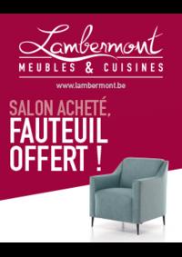 Bons Plans Meubles Lambermont  : Salon acheté, fauteuil offert