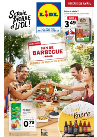Prospectus Lidl EAUBONNE : Fan de barbecue, débutez la saison en beauté !