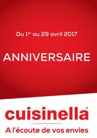 Prospectus cuisinella MONTIGNY-LES-CORMEILLES : Les offres Anniversaire