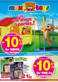 Prospectus Maxi Toys Bouge  : L'été est à nos portes !