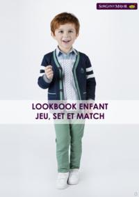 Catalogues et collections Sergent Major Namur : Lookbook enfant Jeu, Set et Match