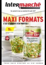 Promos et remises  : Maxi formats c'est le moment d'en profiter !
