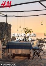 Catalogues et collections H&M : Lookbook maison Grand bleu