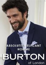 Promos et remises  : La campagne Absolutely elegant homme