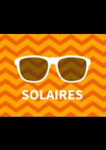 Bons Plans Général d'Optique : 1 solaire = 20% lentilles + 100€ chèque cadeau