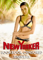 Catalogues et collections NewYorker : Lookbook Censored Simwear