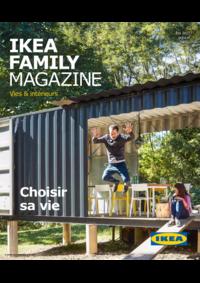 Journaux et magazines IKEA PARIS - PLAISIR : Ikea Family Magazine Été 2017