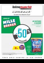 Prospectus Intermarché Contact : Grand jeu mille bornes II