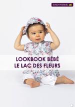 Catalogues et collections Sergent Major : Lookbook bébé Le lac des fleurs