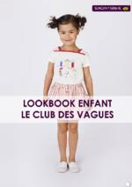 Catalogues et collections Sergent Major : Lookbook enfant Le club des vagues