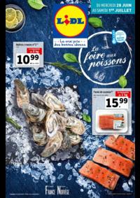 Prospectus Lidl BONDY : La foire aux poissons