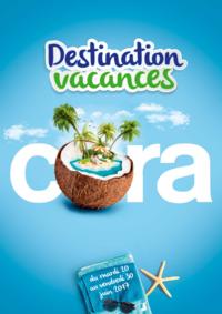 Prospectus Cora ANDERLECHT : Destinations vacances