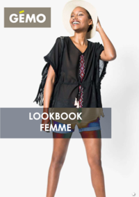 Catalogues et collections Gemo LOCHES : Lookbook femme