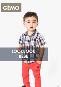 Catalogues et collections Gemo GENNEVILLIERS : Le lookbook bébé