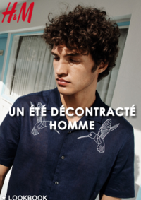 Catalogues et collections H&M Argenteuil : Lookbook homme Un été décontracté
