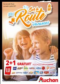 Prospectus Auchan AMIENS 1 : Sur la route des vacances