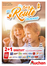 Prospectus Auchan PUTEAUX : Sur la route des vacances