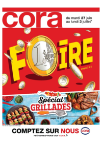 Prospectus Cora MASSY : Foire 1€