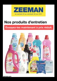 Prospectus Zeeman Champigny sur Marne : Nos produits d'entretien. Essayez-les maintenant à prix réduit